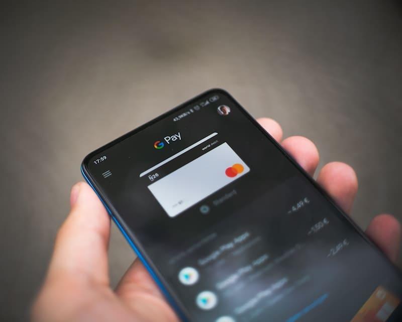 Tarjeta de google pay