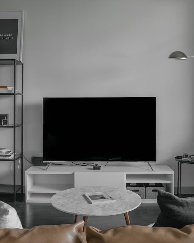 pantalla en el salón